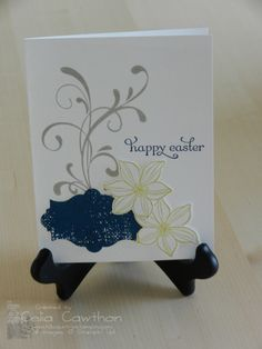 Card Ideas From Stampin Up | Stampin' Up! Easter Blessing Card Idea | Hill Country Stampin'