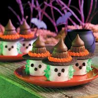 Marshmallow Witch Treats {Full  House Mommy}