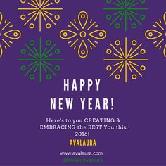 Happy New Year! Peace Love & Bountiful Blessings #NewYear #2016 #NewYou - http://ift.tt/1HQJd81