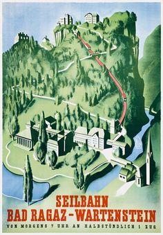 Poster / Bad Ragaz-Wartenstein / 1935