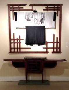 Haori coat and matching cabinet 800