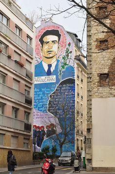 EN IMAGES. Les meilleurs spots de street art à Paris - L'Express Street Art, Paris Street, Frank Frazetta, Tour Eiffel, Menilmontant Paris, Belleville Paris, Spots, Oeuvre D'art, Les Oeuvres