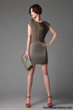 Modernos vestidos cortos para ir a una boda de dia – 5