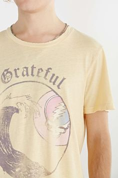 Junk Food Grateful Dead Wave Tee - Urban Outfitters