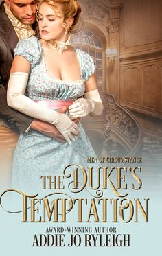 Rookie Romance: Blog Tour: The Duke's Temptation by Addie Jo Ryleigh; Review + Giveaway