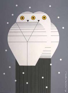 charley harper prints- too many I like to pick just one! Charley Harper, Owl Art, Bird Art, Illustrations, Graphic Illustration, Bird Quilt, Art Images, Art Lessons, Contemporary Art