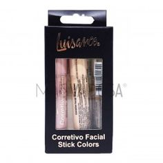 Kit Corretivo Facial Stick Colors Luisance L3006