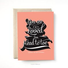 Valentine Card, You Are So Loved Card, Love, Anniversary Card