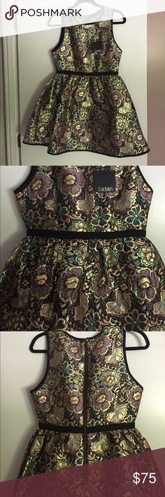 Ladakh Opulence Decade Brocade Dress, Sz. 4 Ladakh Oppulence Decade Dress, Sz. 4, Never Worn, New with tags! Purchased from Flock, in Boston's South End. Ladakh Dresses Mini