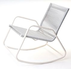 Cadeira de balanço da linha Marina. Linda e confortável! - http://www.facebook.com/TidelliPortoAlegre