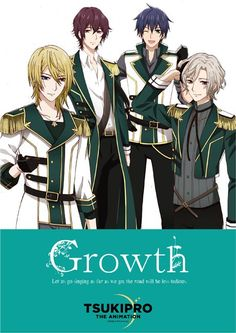 Band Growth from anime Tsukipro The Animation