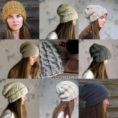 Top 10 Hat Knitting Patterns by Brome Fields – Brome Fields