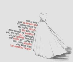 The Moment I Knew - this song is so well written, it makes me feel her pain