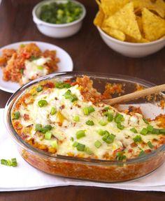 Spicy Mexican Quinoa Casserole- E meal.