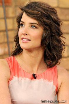 cobie smulders-love her hair!