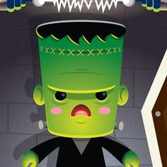 "Print Now Available! ""Kawaii Monsters"" by Jerrod Maruyama"