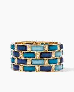 charming charlie | Cobble Stretch Bracelet | UPC: 410007585774 #charmingcharlie