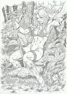 Red Sonja by Al Rio