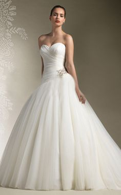 Sheath/Column Sweetheart Sleeveless Crystal Sweep/brush Train Wedding Dress