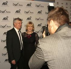 Tim Phillips and Jan Creamer getting 'papped'