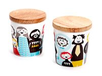 ISAK Familjen Handleless Cups 2 Pack - North Rock Gallery