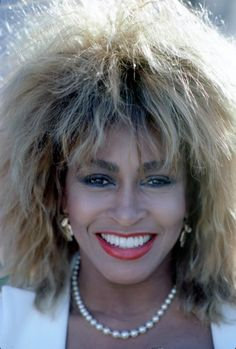 Tina Turner: Iconic singer and timeless beauty!  Love it when she rocks out!!