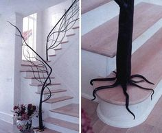 Tree Branch Staircase