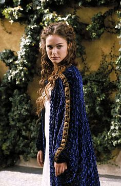 Padme Amidala's dressing gown from Star Wars Episode II --  to make if I'm ever bedridden for 3+ months...  takes about 25-30yards of fabric