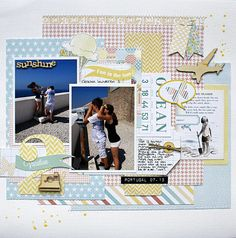 Fun in the Sun - Pretty Little Studio (Sand Castle collection) by Monique Liedtke #Pretty_Little_Studio #PLS @Pretty Little Studio