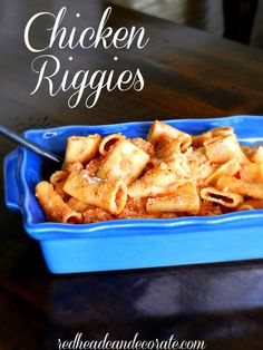 Chicken Riggies Recipe