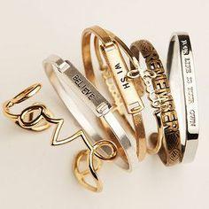 Inspiration bracelets :) #accessorize