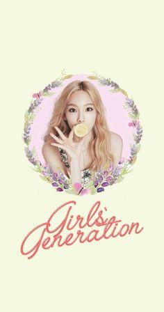 Girls' Generation SNSD Taeyeon Lockscreen Phone Wallpaper