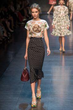 Dolce & Gabbana Runway Polka Dots