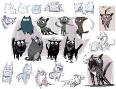 kitty designs by jesseaclin on deviantART