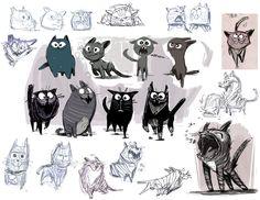 kitty designs by jesseaclin on deviantART