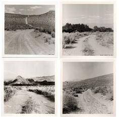 Robert Kinmont, My Favorite Dirt Roads (1969)