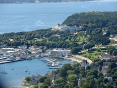 Taken from Bree's Mackinac Island Blog...an aerial view of my favorite Island