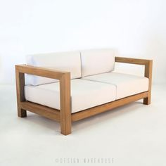 Ibiza Teak Loveseat | Design Warehouse