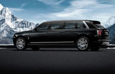 This Rolls-Royce Cullinan is one expensive bullet-proof limousine Mercedes Maybach, Rolls Royce Suv, Euro, Rolls Royce Cullinan, Best Classic Cars, Expensive Cars, Twin Turbo, Armored Vehicles, New Tricks