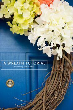 A wreath tutorial. I