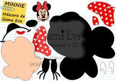 Hace bastante que nuestros seguidores nos pedían a Minnie Mouse, que, todo sea dicho, no sé cómo es posible que se me haya pasado hacerla antes, y ya la tenemos por aquí. Muchas más máscaras  para goma EVA y fieltro y cientos de plantillas, como siempre, en nuestra web y en Facebook.