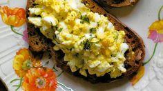 Open-Face Egg Salad Sandwich Recipe