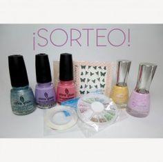 #Esmaltes + Glitter  + #Tachuelas  + Water Decals + Nail Tape + sorpresa ^_^ http://www.pintalabios.info/es/sorteos_de_moda/view/es/3726 #ESP #Sorteo #Unas