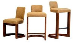 Wendell Stool By Wendell Castle  Contemporary, Upholstery  Fabric, Barstools  Counter Stool by Dennis Miller Associates