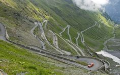 Stelvio Pass -- Italy