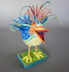 Burds of Paradise - Joyce Curvin Art