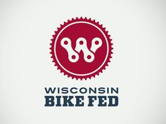 Wisconsin Bike Fed Final Logo  by Audelino Moreno González