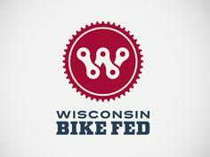 Wisconsin Bike Fed Final Logo by Audelino Moreno González                                                                                                                                                                                 More