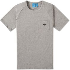 Adidas Premium Essentials Pocket Tee ($40) ❤ liked on Polyvore featuring men's fashion, men's clothing, men's shirts, men's t-shirts, j crew mens shirts, mens cotton shirts, mens cotton t shirts, adidas mens t shirts and mens raglan shirt