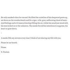 18. Cigars ☁️ #poem #poet #poems #poets #poetsofig #poetry #poetryporn #poemsofig #poemsporn #poemstagram #poemsofinstagram #poetsunite #poetsociety #poetsofinstagram #poetssociety #write #writer #writers #writersofig #writersofinstagram #quote #quotes #quoteoftheday #grandpa #oldmen #cigar #smoke #insecure #fuck